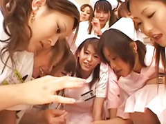 Nurse, Japanese handjob, Japanese nurse, Asian gangbang, Top asian, Nurse gangbang