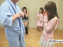 A real friend, Subtitles, Japan handjob, Subtitle, In front of, Subtitlle