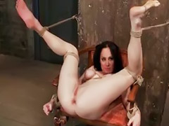 Punish, Punished, Punishment, Punishing, Tied bondage, Nude babe