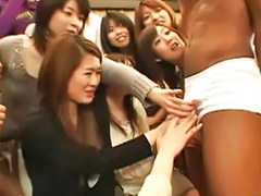 Asian oriental japanese handjob, Ikasleak