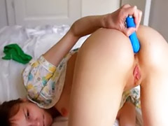 In blue, Action girls, Charmed, Very anal, Girls in blue, Girl action