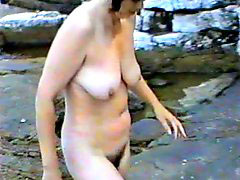 Nudist, Camping, Wife
