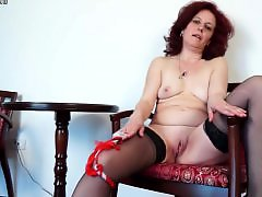 Slut , mom, Masturbating chair, Moms stockings, Moms granny, Mom stock, Grannies in stockings
