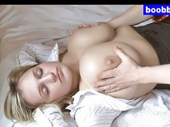 Pregnant, Lactating, Big boobs, Milf massage