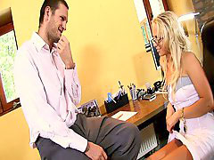 Blonde hd, Carla, Cox, Naughty secretary, Hd blonde, Blond hd