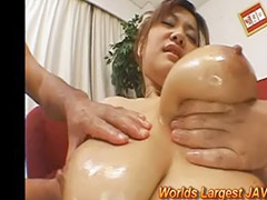 Milk, Japanese wife, Milking, Wife threesome, Asian wife, D cup