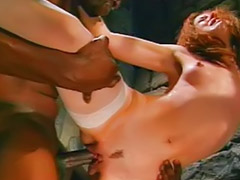 Police, Jail, Teens in stockings, Police fuck, Cop, Brunette in stockings
