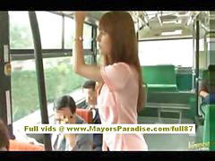 Asian bus, Hairy teen pussy, Fondle, Teen bus, Pussy hairy teen, Fondled