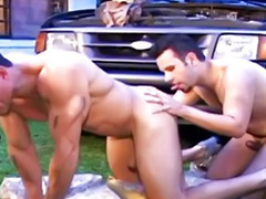 Rimming, Outdoor anal, Outdoor latin, Anal hard, Gay latin, Outdoor masturbation