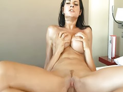 Abby, Abby c, Abbi, Black cum swallow, Big load, Abbie