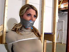 Restrain, Tied gagged