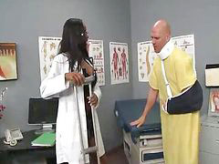 Doctor, Interracial, Big black cock, Black cock, Big cock black, Big butt