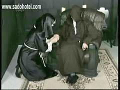 Nuns, Dirty ass, S hitting, Hitli, Horny nuns, Ass screaming