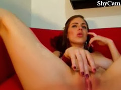Adolescente amatoriale in webcam, Bambine latina, Vivi
