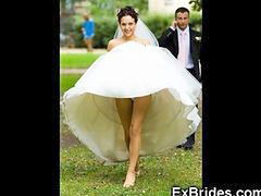 Upskirt, Upskirts, Wedding, Wed, Wedding day, Weddings