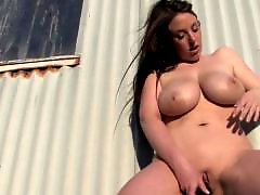 Outdoor boobs, Outdoor big boobs, Out west girls, Out boob, Dildo masturbation outdoor, Girl out west