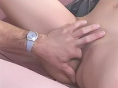 Play with cum, Cum playing, Threesome with asian