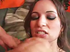 Pornstar lucky b, Lucky, Swallows, pornstars, Sex one p, Sex one, Lucky blowjob