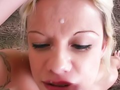 Sperm, Face sperm, Amateur sperm, Sperm face, Amateur tattooed blond, Tattooed pov