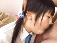 Asian, Schoolgirl, Japanese schoolgirl, Japanese black, Innocent