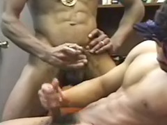 Friend gay, Wanking together, Black friends, Cum together, Sexs together, Friends wank