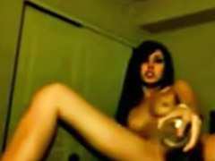 Webcam, Webcam teen, Anal, Drunk, Drunk anal, Crazy