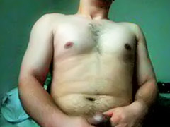 Morning, Morning solo, Morn, Hairy solo masturbation, Hairy masturbation solo, Hairy male