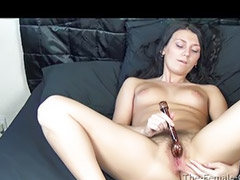 Hairy, Orgasms, Orgasm, First, Vibrator