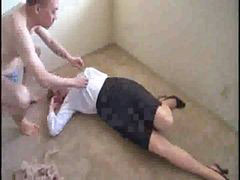Blonde japanese, Japaneses forced, 2 man 1 woman, Japanese blonde, Caught man, Man japanese