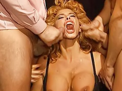 Lingerie sex office, Milly, Redhead milf facial, Group lingerie, Office milf, Threesome office