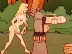 Vintage, German, Cartoon, German anal, Cartoons, Vintage anal