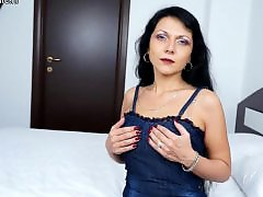 Milf herself, Milf with stocking, Matures pov, Mature herself, Mature mom with, Mature milf pov