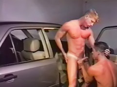 Car, Vintage anal, Vintage, Sex in car, Blowjob vintage, Vintage blowjob