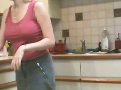 Hannah, Housewife fucks, Housewife kitchen, Housewife fucking, Housewife fuck, The house
