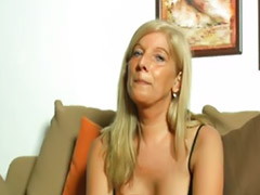 German, Mature masturbation, German mature