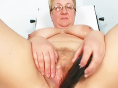 Hairy mature, Mature hairy, Fat mature, Exam, Hospital, Speculum