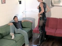 Teasing roommate, Foot her, Foot dominatrix, Foot ball, Balls tease, Ballbustings