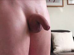 Foreskin, Soft, Handsfree, Soft cocks, Soft cock, Huge oily