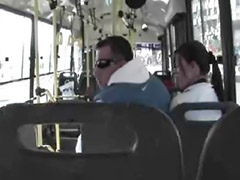 Bus, Public bus, Blow, Blow job, Bus sex, Public shemale