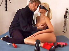 Blindfolded, Nikki anderson, Blindfold, Nikki anderson,, Blindfoldded