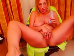 Romanian, Romanian webcam, Romanian girl, Webcam blonde, Mlf, Webcam milf
