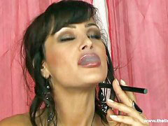 Lisa ann, Play, Smoking, Hot