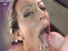 Jizz, Gangbang, Swallow, Bukkake, Swallowing, Cum swallowing