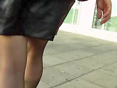 Skirt, Skirt and stocking, Minis, Mini skirts, Leather skirts, Black leathers