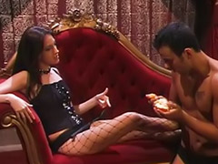 Femdom, Black, Mistress, Domination, High heels, Spanking