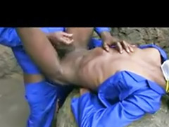 Monster, Monsters, Monster anal, Outdoor gay, Gay ebony, Anal monsters