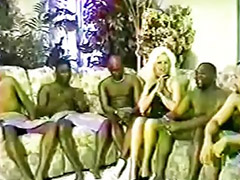 Interracial, Gangbang