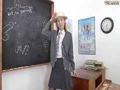 The teacher, Classroom, Teacher horny, Masturbant in classroom, In classroom, Masturbating teacher