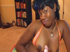 Black, Handjob, Girl, Interracial