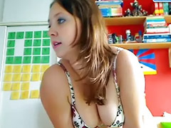 Webcam, Teen, Strip, Striptease, Webcam teen, Teen webcam